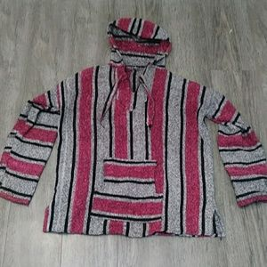 Sweaters - Vintage Honduran Pinch Sweater with hood